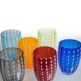 zafferano glaeser-murano-perle in 13 verschiedenen Farben