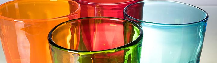 Murano Shop De Bunte Trinkglaser