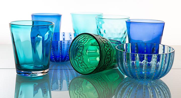 Kombinationsmöglichkeiten blau/grün